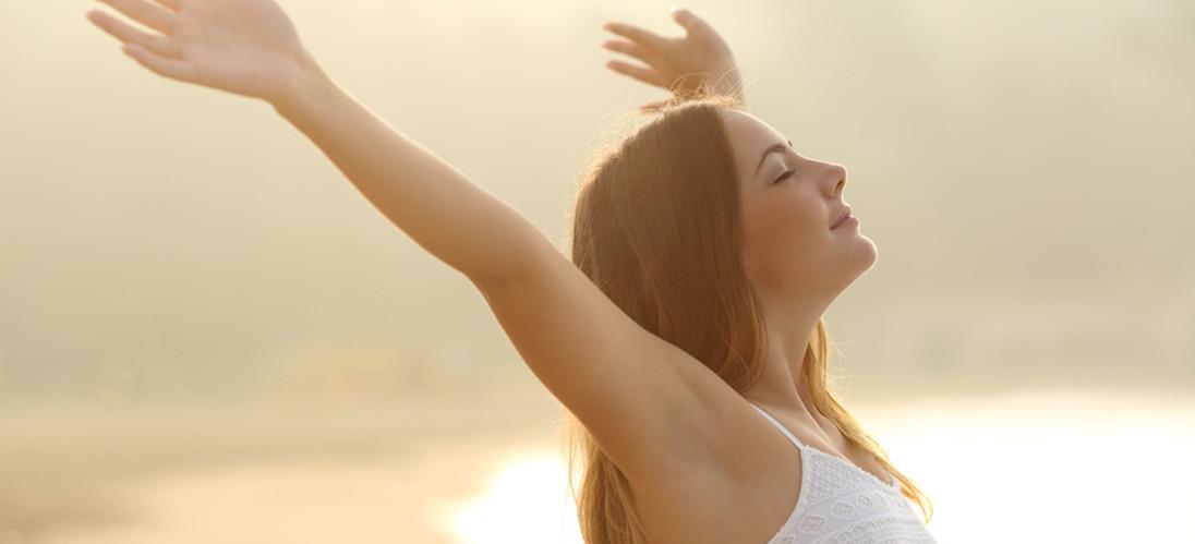 Gesunde und frische Luft zum Atmen